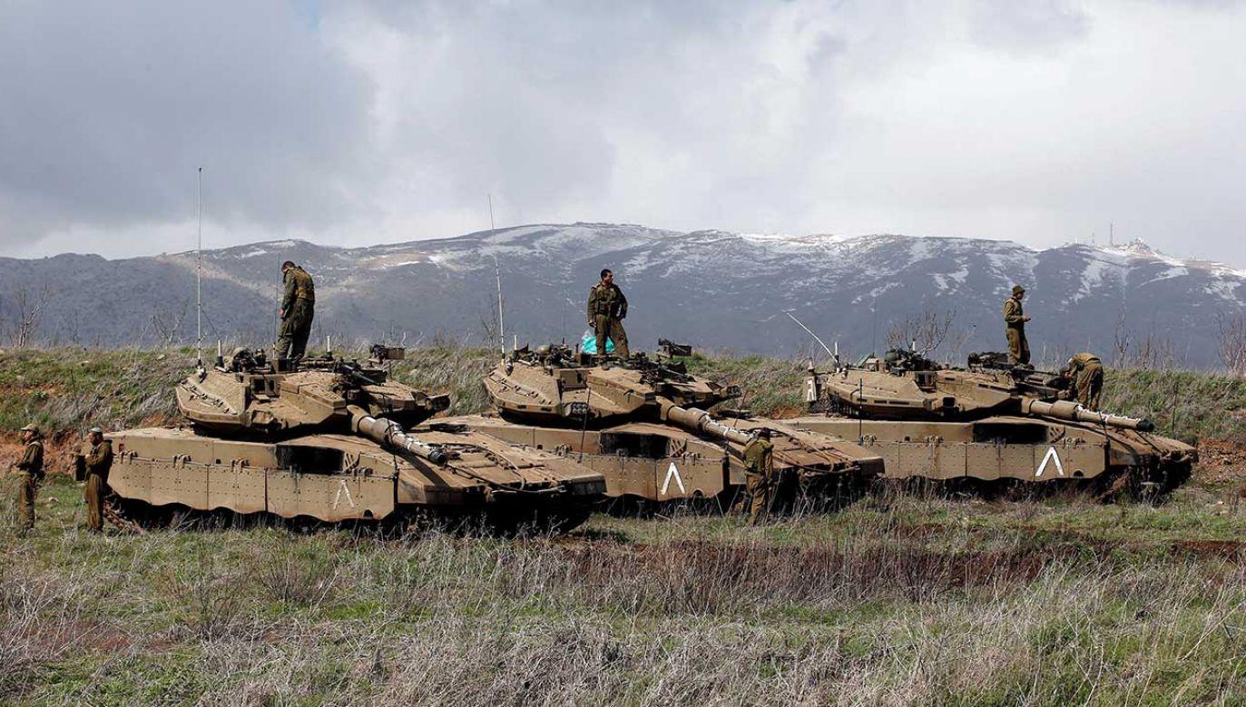 W 2017 roku ONZ przyjęła rezolucję, w której Izrael został skrytykowany za okupację Wzgórz Golan(fot. REUTERS/Ronen Zvulun)
