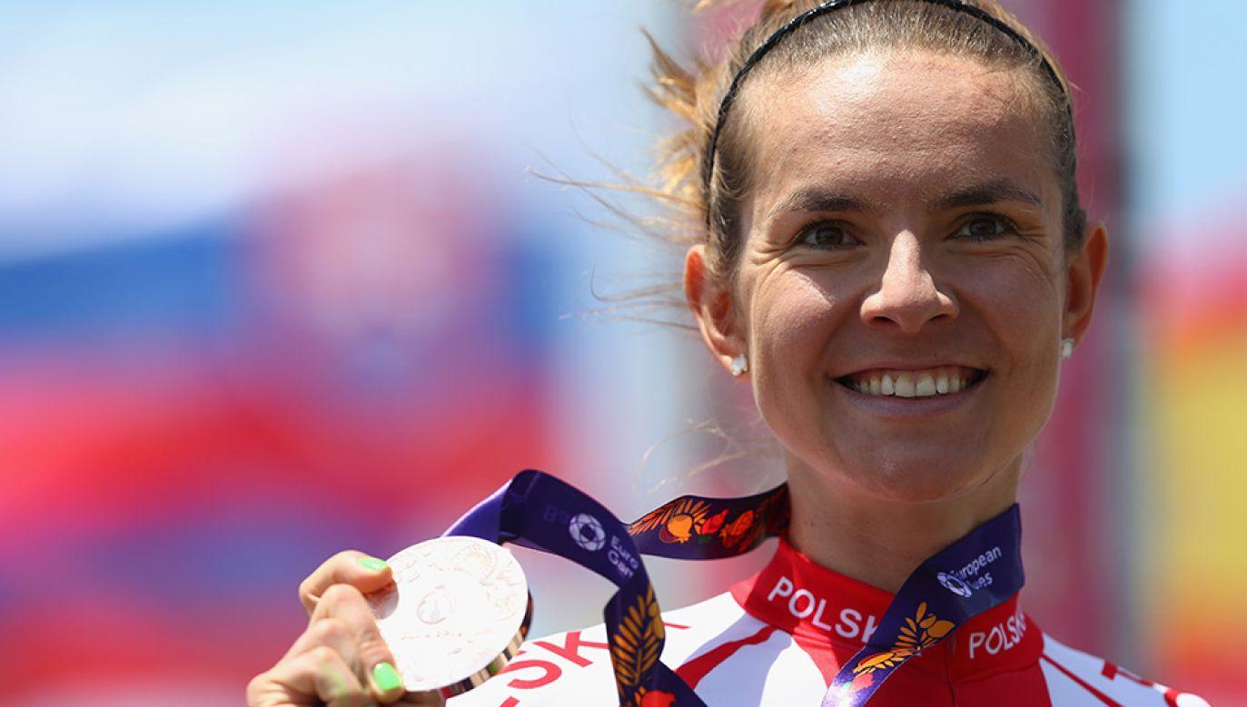 Maja Włoszczowska dwukrotnie zdobyła srebro na Igrzyskach Olimpijskich (fot. Harry Engels/Getty Images for BEGOC)