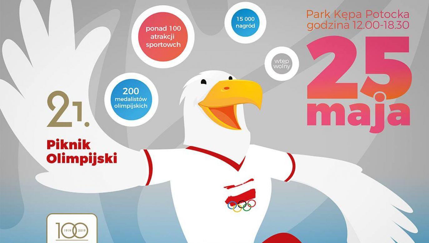 Tegoroczna edycja imprezy jest wyjątkowa, bo odbywa się w roku 100-lecia istnienia Polskiego Komitetu Olimpijskiego (fot. Polski Komitet Olimpijski/Facebook)