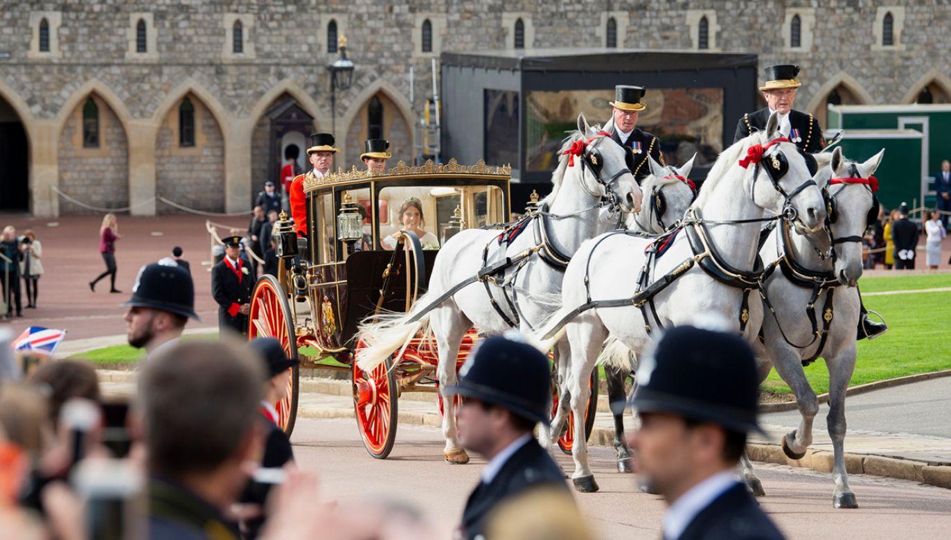 28-letnia księżniczka jest dziewiąta w kolejności do brytyjskiego tronu (fot. PAP/EPA/WILL OLIVER)