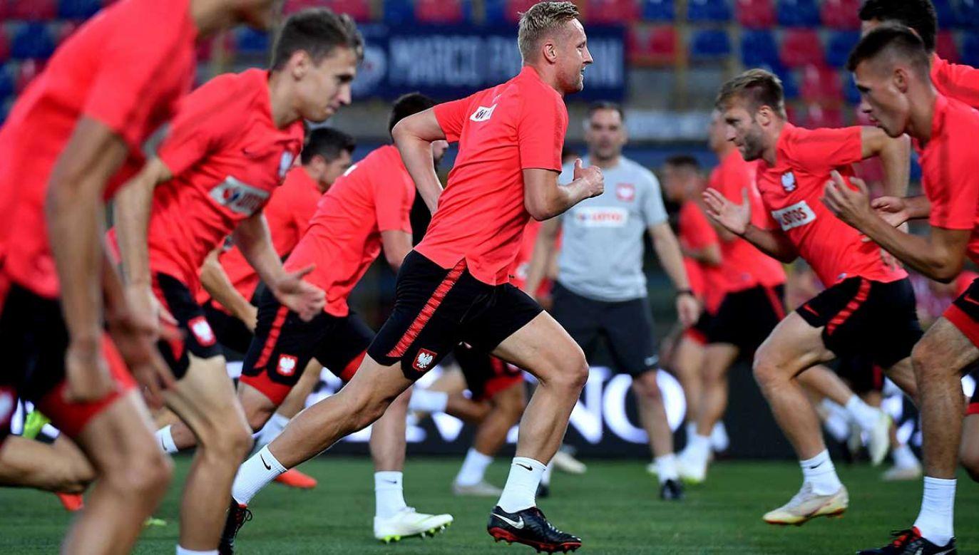 W swoim pierwszym meczu nowych rozgrywek biało-czerwoni zmierzą się z reprezentacją Włoch (fot. PAP/Bartłomiej Zborowski)