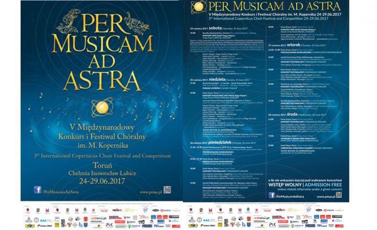 "Festiwal Chóralny ""Per Musicam Ad Astra"""