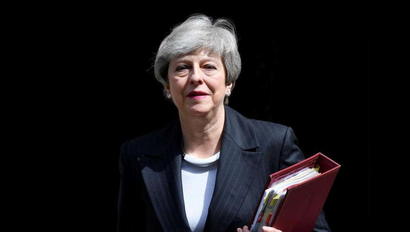 May pozostaje trzecim najkrócej urzędującym premierem w powojennej historii Wielkiej Brytanii (fot. REUTERS/Toby Melville)