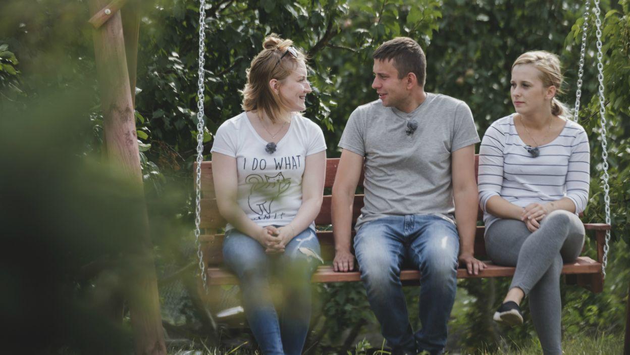 Po odprawieniu jednej z dziewczyn, rolnik postanowił dowiedzieć się, która z pań widzi siebie u jego boku (fot. TVP)