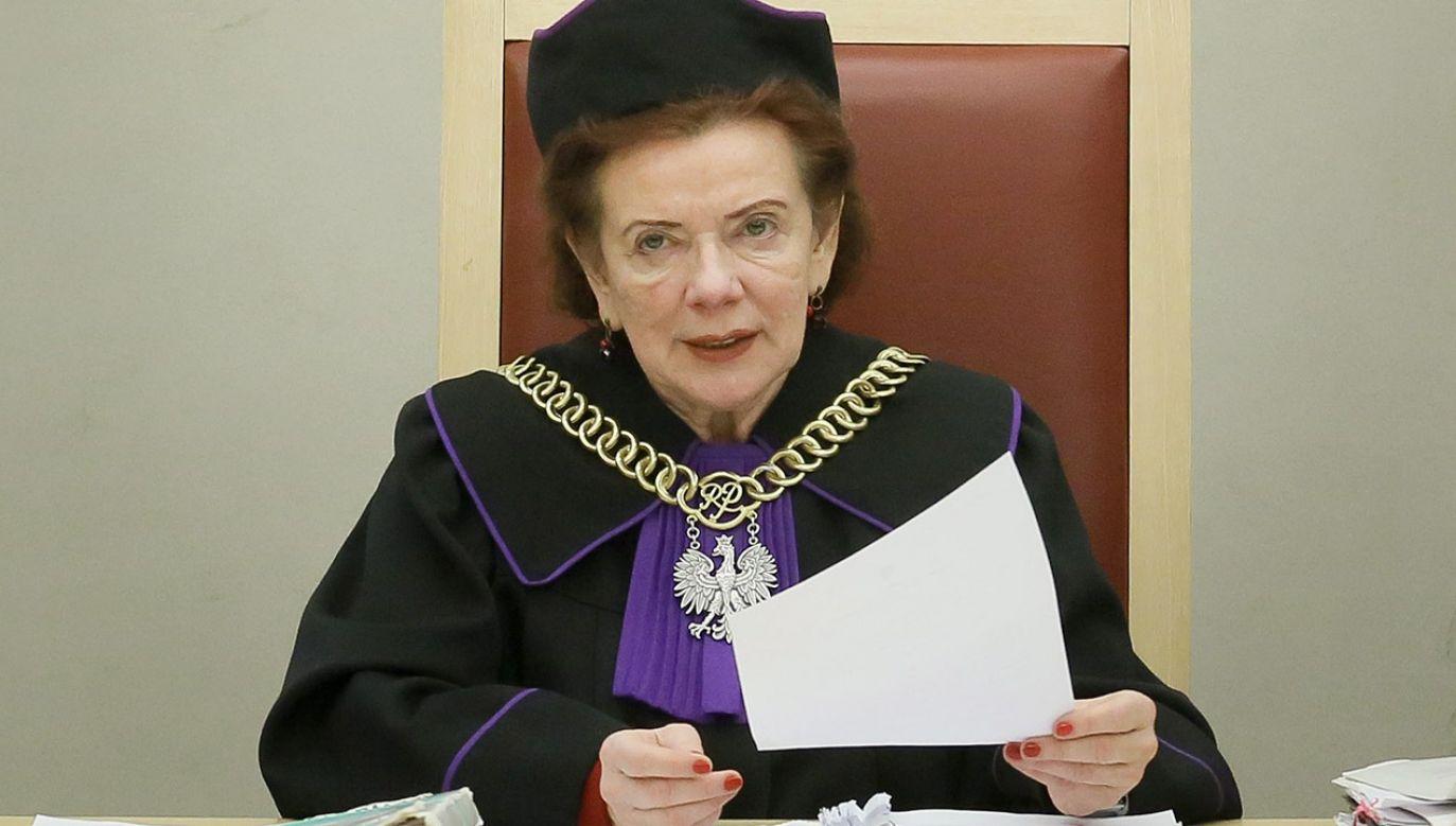 """Kamińska zasłynęła wypowiedzią o sędziach jako """"nadzwyczajnej kaście ludzi"""" (fot. arch.PAP/Paweł Supernak)"""