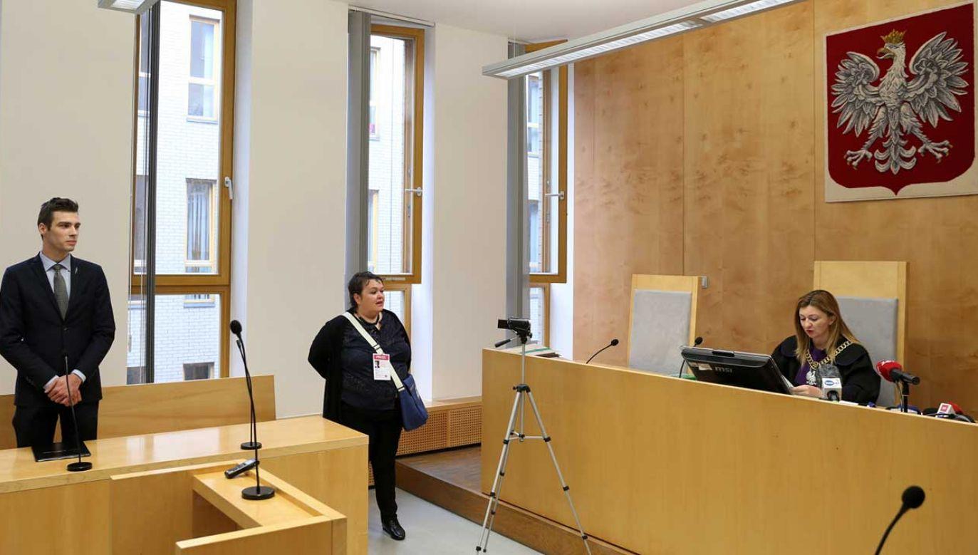Sąd w Katowicach orzekł, że rozwiązanie majowego zgromadzenia Młodzieży Wszechpolskiej w Katowicach przez prezydenta tego miasta było bezzasadne (fot. PAP/Andrzej Grygiel)