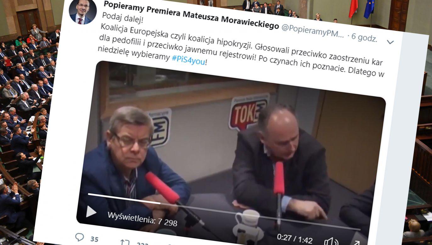 Jan Hartman zaproponował wszczęcie debaty o legalizacji kazirodztwa (fot. PAP/Radek Pietruszka/tt/@PopieramyPMM)
