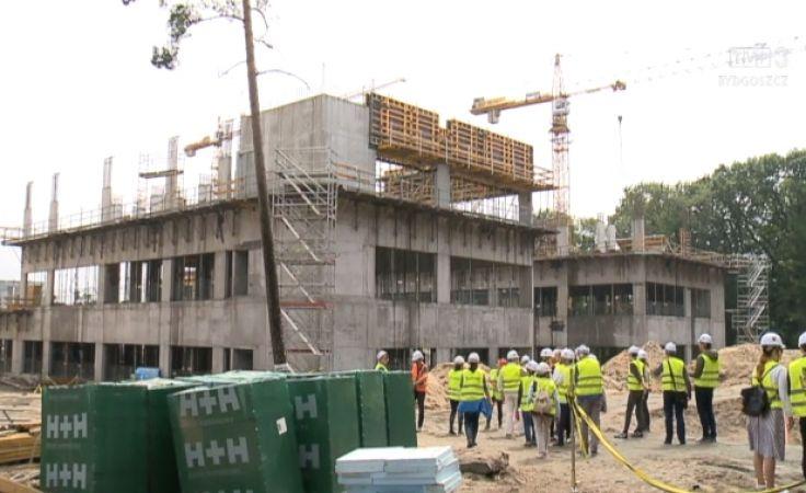 Rozmach szpitala na Bielanach zaskoczył architektów