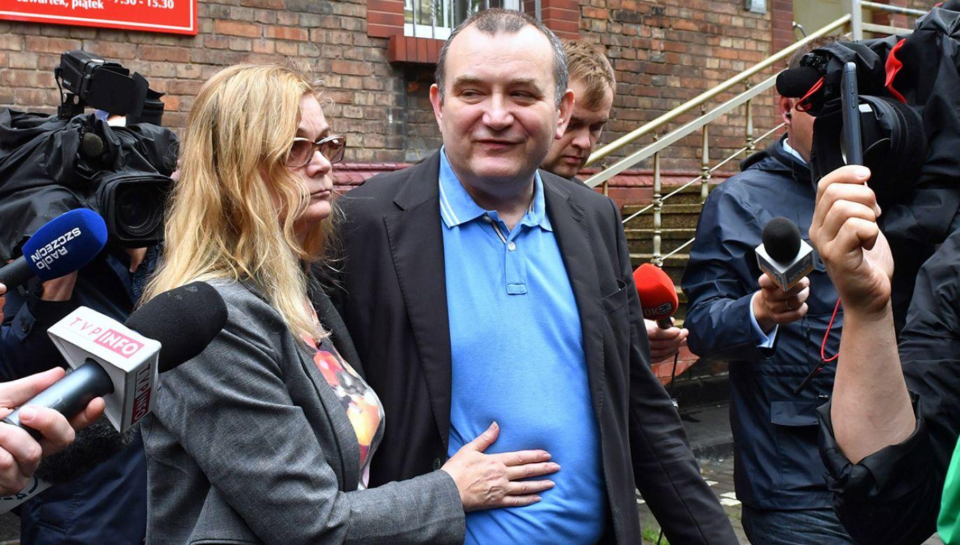 Poseł Gawłowski twierdzi, że jest niewinny (fot. PAP/Marcin Bielecki)