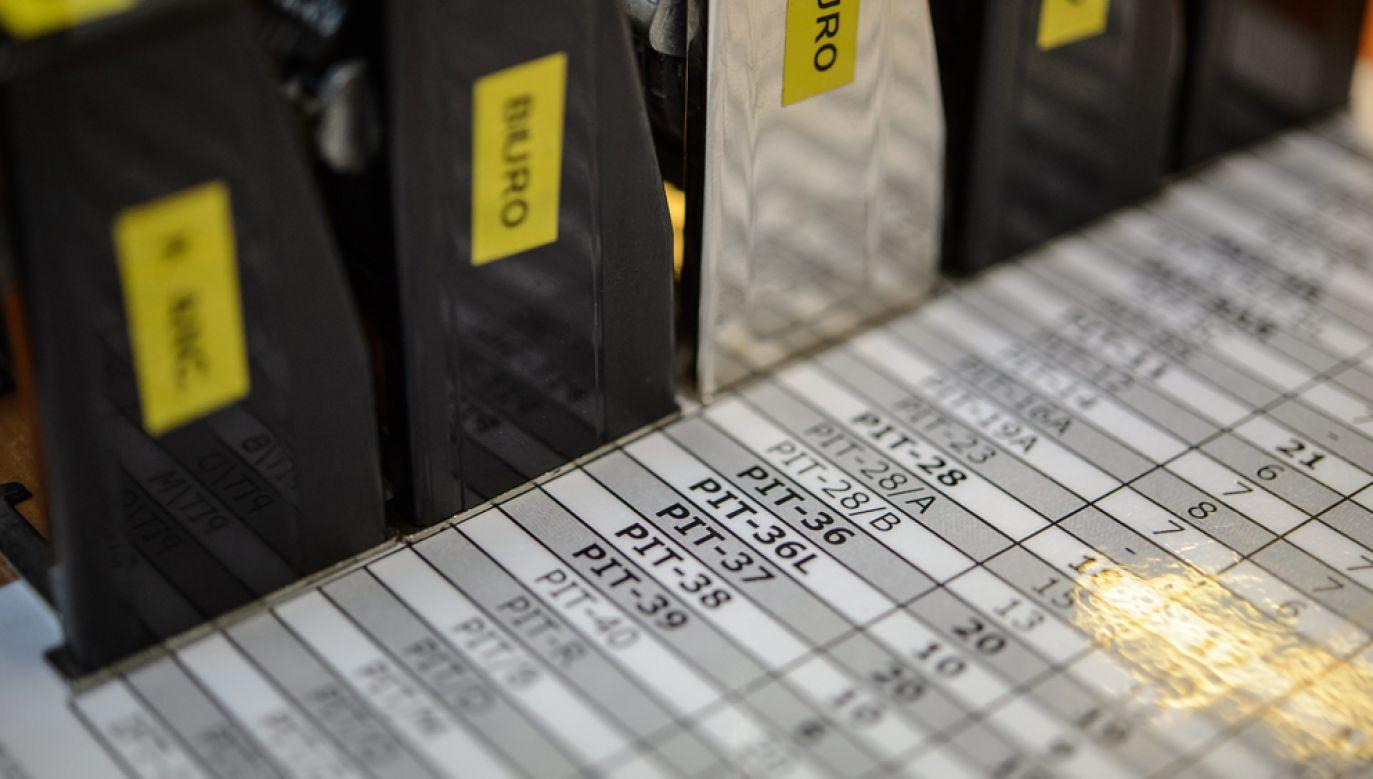 Projekt nowej ordynacji podatkowej przygotowuje Komisja Kodyfikacyjna Ogólnego Prawa Podatkowego w Ministerstwie Finansów (fot. arch. PAP / Wojciech Pacewicz)