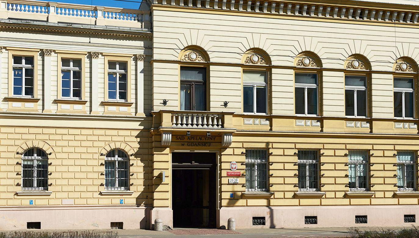 Siedziba Sądu Apelacyjnego w Gdańsku (fot. arch.PAP/Adam Warżawa)