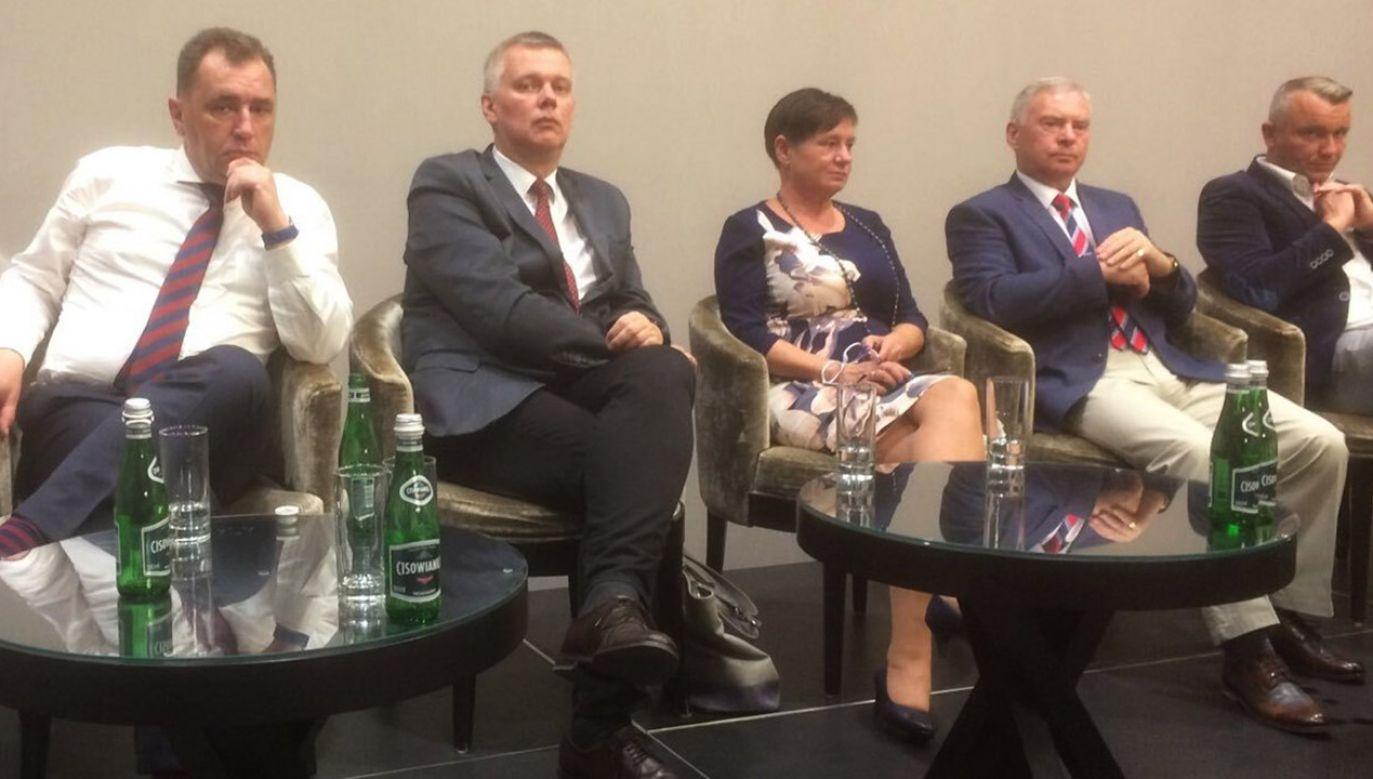 Deklaracja byłego ministra obrony narodowej w rządzie PO-PSL padła w trakcie spotkania z emerytami mundurowymi w Kołobrzegu (fot. tt/@TomaszSiemoniak)
