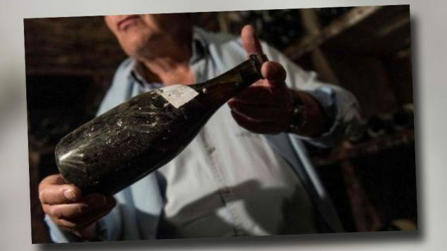 Wino rozlano w czasach króla Ludwika XVI (fot. TT)