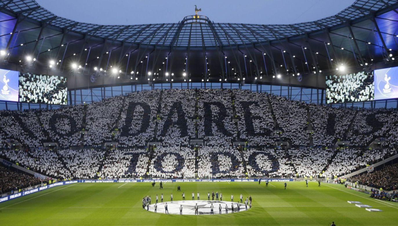 Stadion Tottenham Hotspur przed meczem z Manchesterem City w Lidze Mistrzów (fot. Getty)