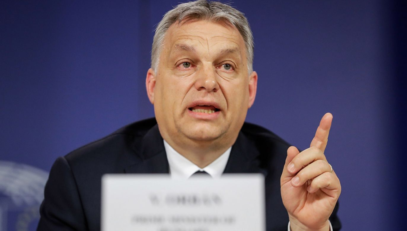 Viktor Orbán nie będzie uczestniczył w rutynowym spotkaniu przywódców europejskiej centroprawicy przed unijnym szczytem (fot. PAP/EPA/STEPHANIE LECOCQ)