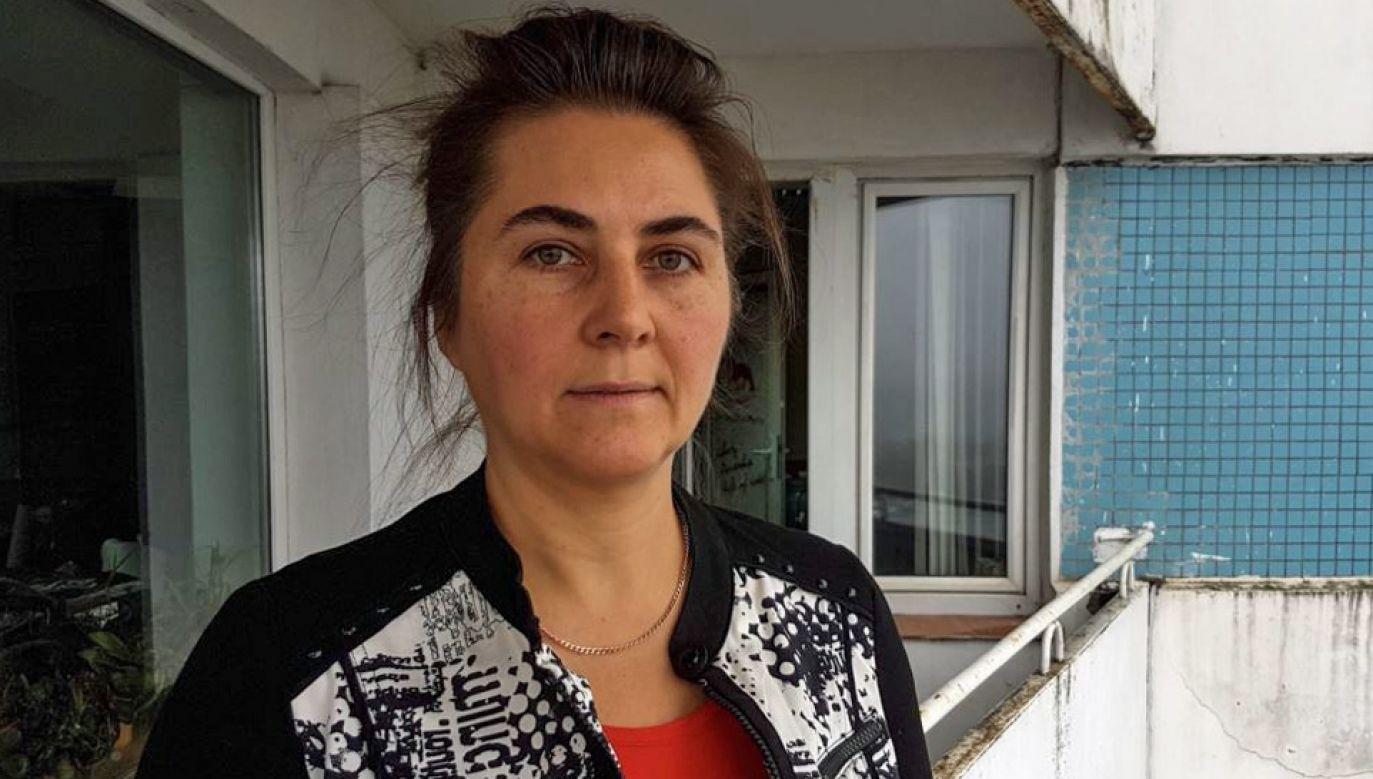 Anna Krasulina nie będzie mogła wrócić na Białoruś przez rok (fot. TT/Svoboda.org)