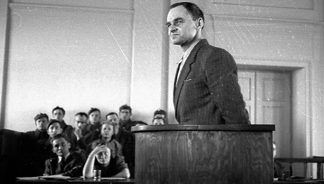 Skazanie rtm. Witolda Pileckiego było mordem sądowym (fot. arch.PAP)