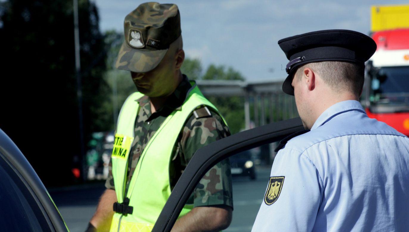 Nielegalny imigrant z Nigerii usiłował przekroczyć granicę polsko-niemiecką (fot. Straż Graniczna)
