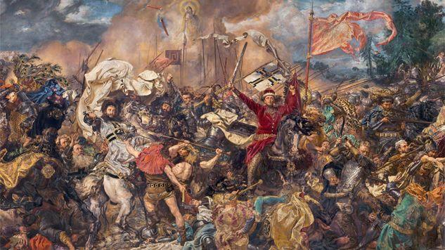 Bitwa pod Grunwaldem była jedną z najważniejszych w dziejach Europy (obr. Jan Matejko)