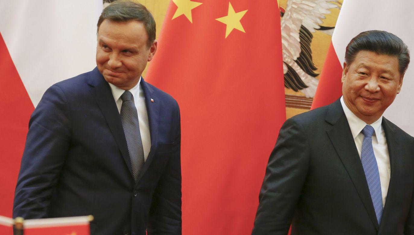 Prezydenci Andrzej Duda i Xi Jinping gościli się nawzajem (fot. Damir Sagolj - Pool/Getty Images)