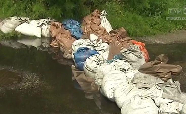 Deszczówka zalała m.in. piwnice domów w Solcu Kujawskim