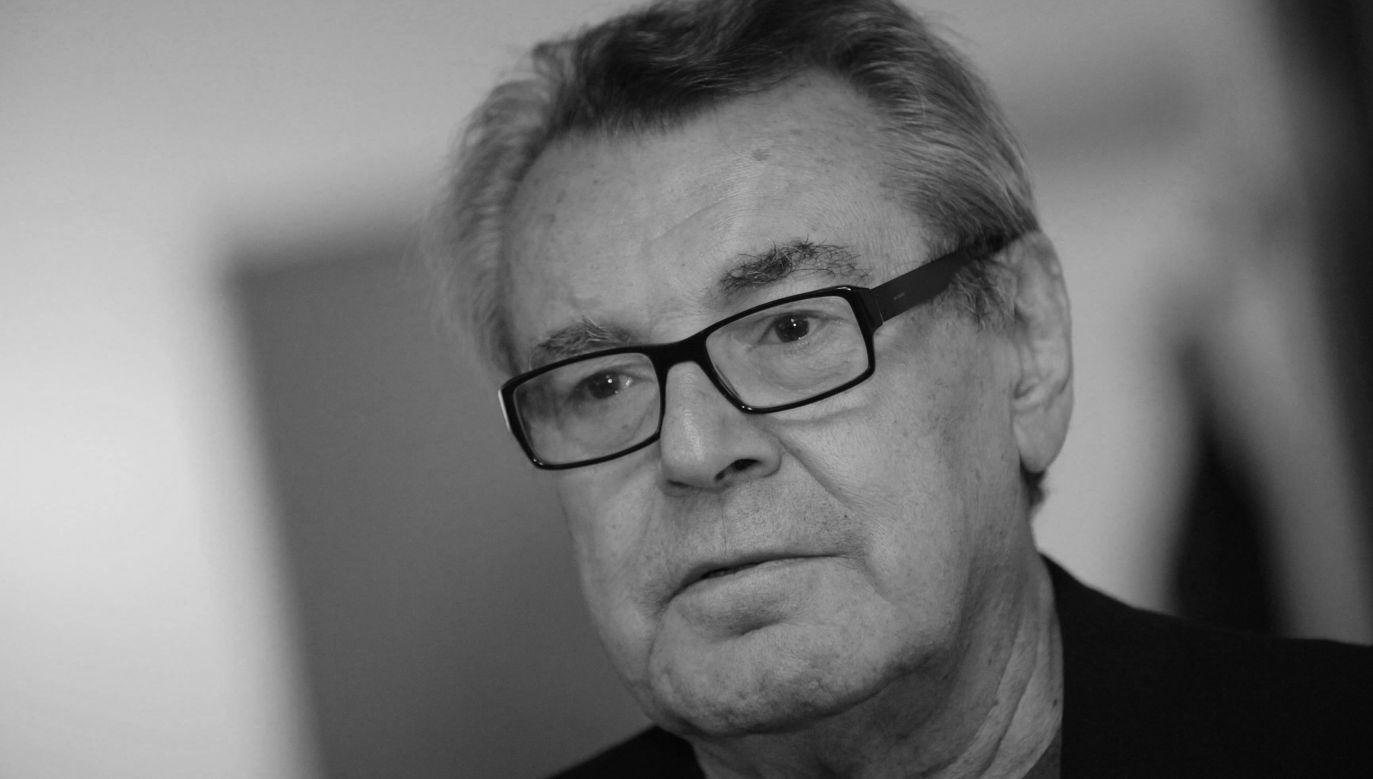 Czeski reżyser Milos Forman (fot. arch. PAP/CTK)