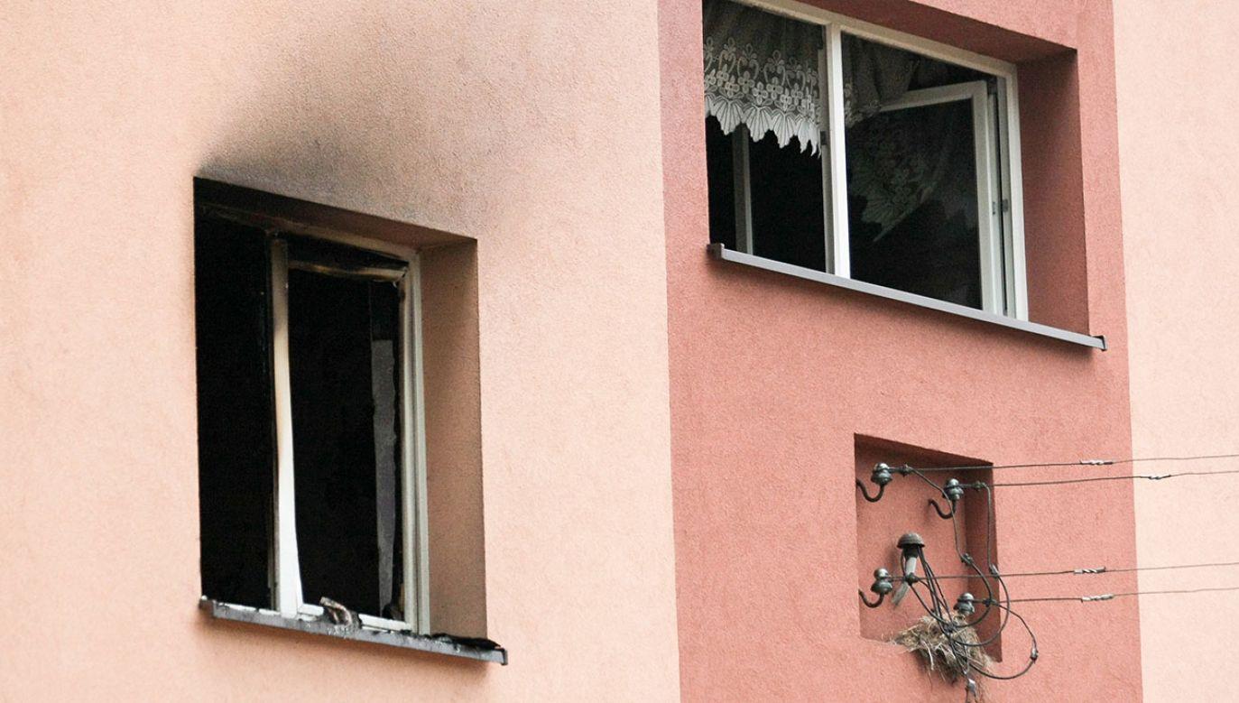 Z ogniem walczyło 10 zastępów straży pożarnej (fot. arch.PAP/Lech Muszyński, zdjęcie ilustracyjne)