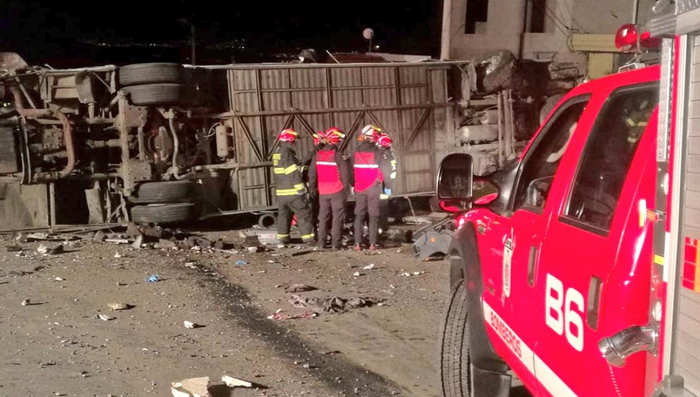 Do wypadku doszło we wtorek nad ranem czasu miejscowego (fot. tt/News_Executive)