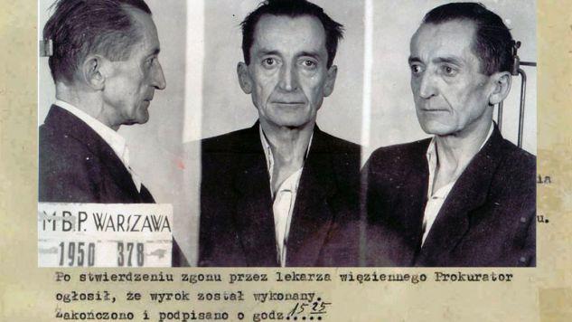 """Mija 65. rocznica zamordowania przez komunistów gen. Augusta Emila Fieldorfa """"Nila"""" (fot. twitter.com/ipngovpl)"""