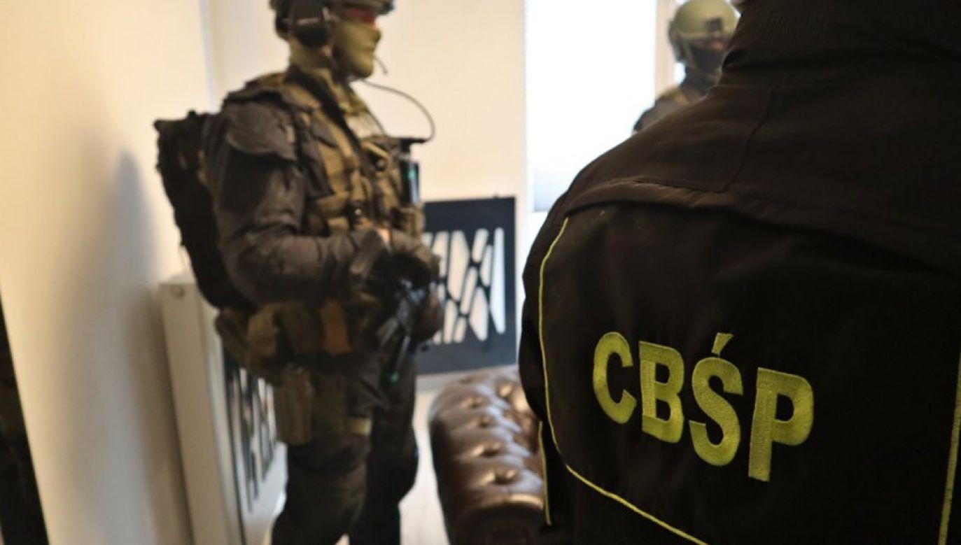 W akcji wzięło udziało 150 funkcjonariuszy CBŚP (fot. CBŚP)