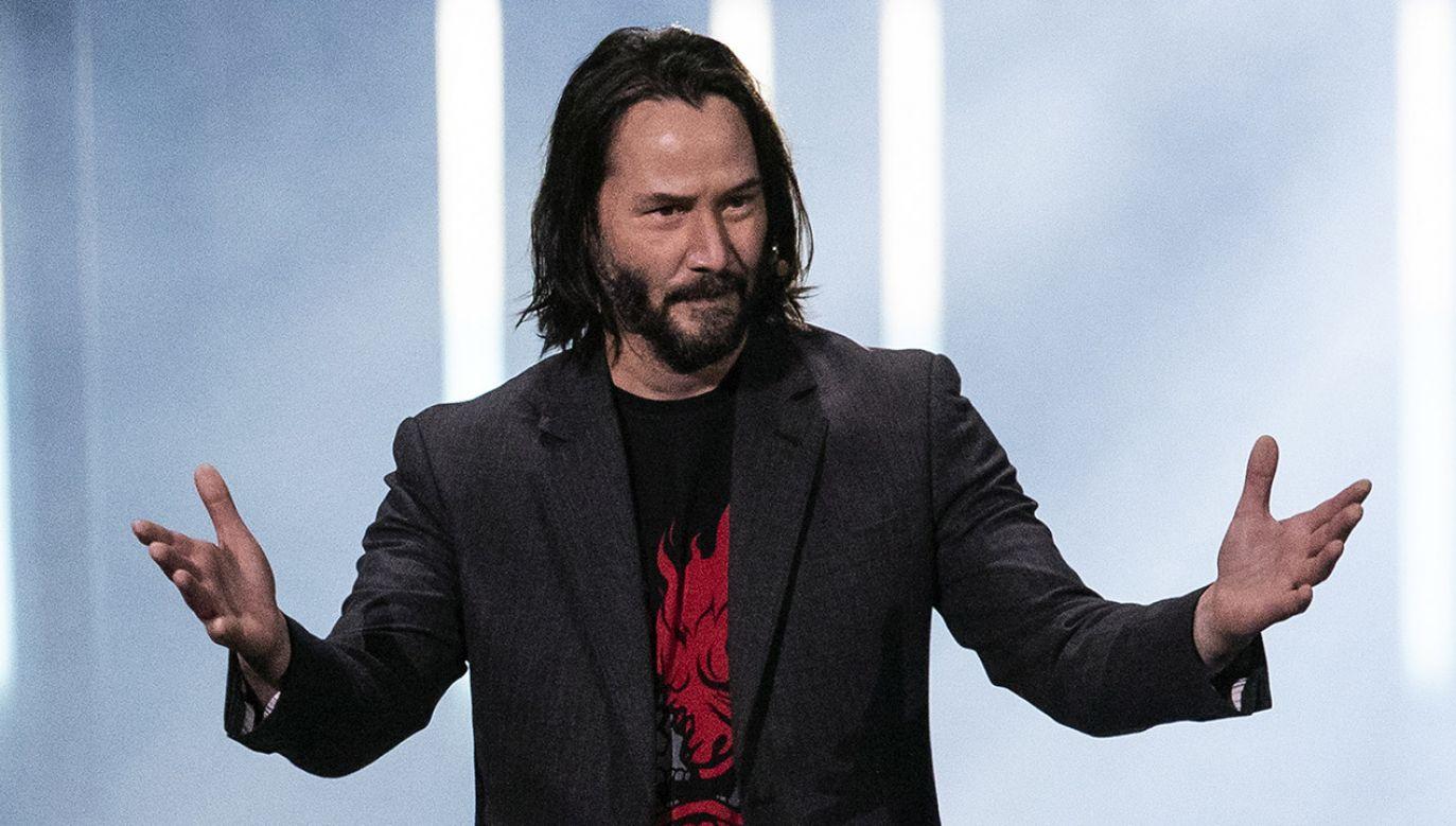 O dacie premiery poinformował aktor Keanu Reeves (fot. PAP/EPA/ETIENNE LAURENT)