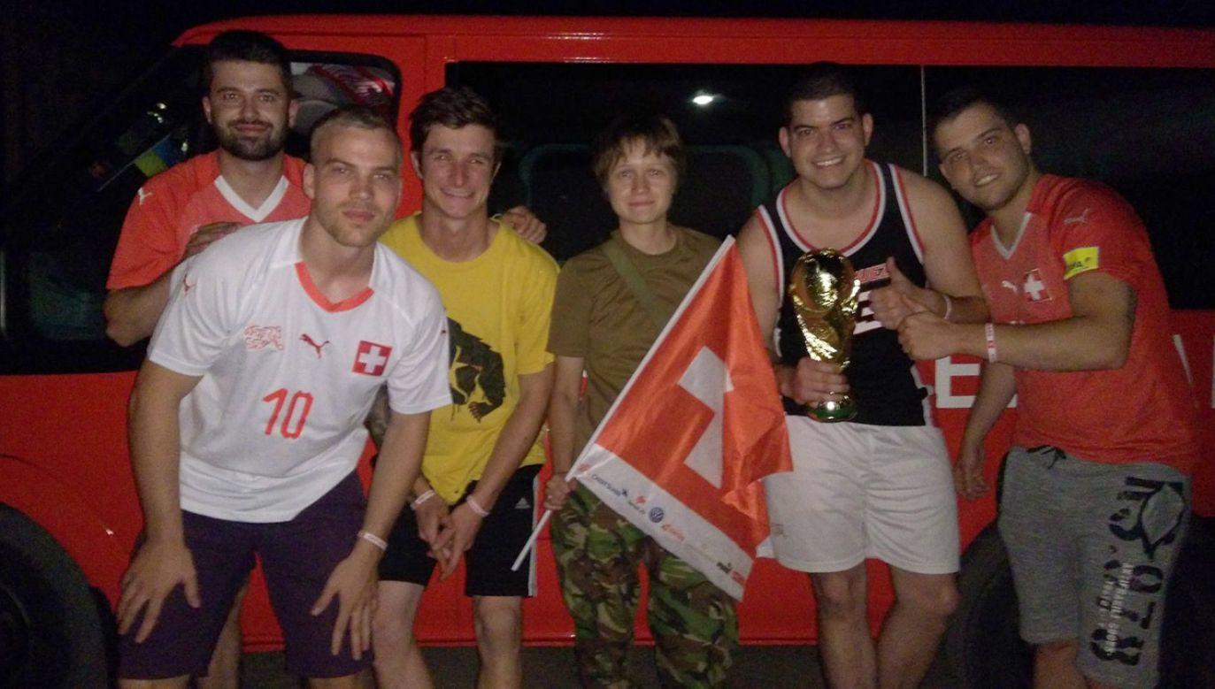 Fani jechali busem do Rosji przez Ukrainę (fot. FB/@dombrovskaya.volonter)