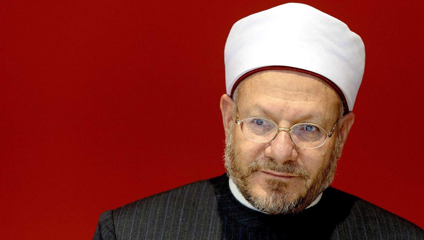 Wielki Mufti opiniuje każdy wyrok śmierci w Egipcie (fot. arch.PAP/EPA/SANDER KONING)
