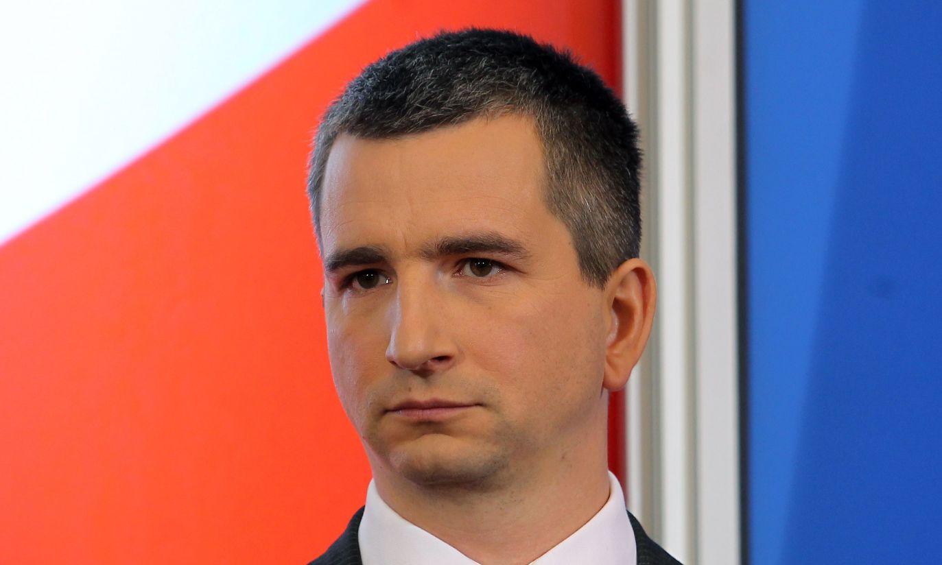 Mateusz Szczurek został nowym ministrem finansów (fot. PAP/Radek Pietruszka)