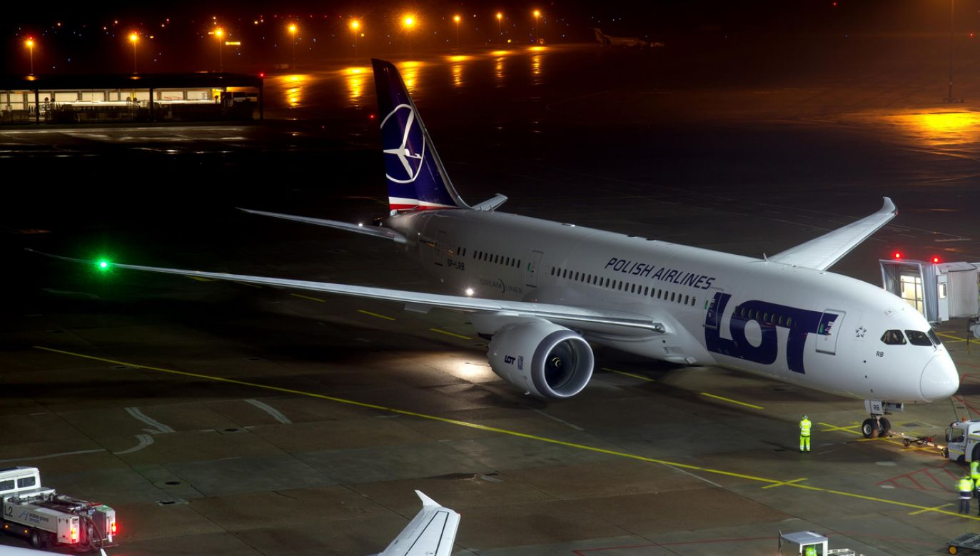 B787 Dreamliner (fot. wikipedia.org/ Björn Strey)