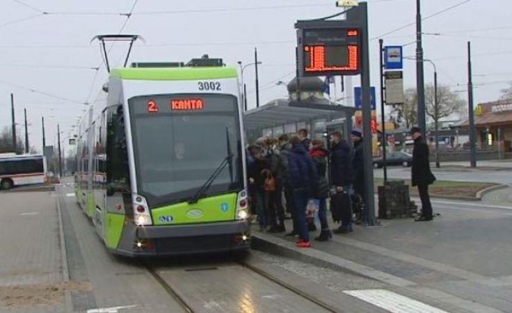 Transport tramwajowy w Olsztynie funkcjonuje od końca 2015 roku
