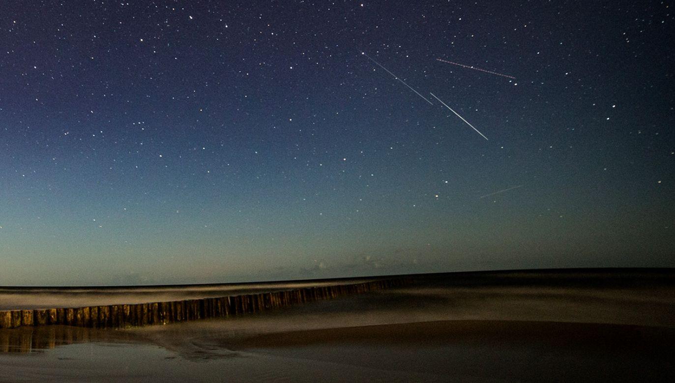 Meteory od zawsze frapowały ludzi (fot. PAP/Łukasz Ogrodowczyk)