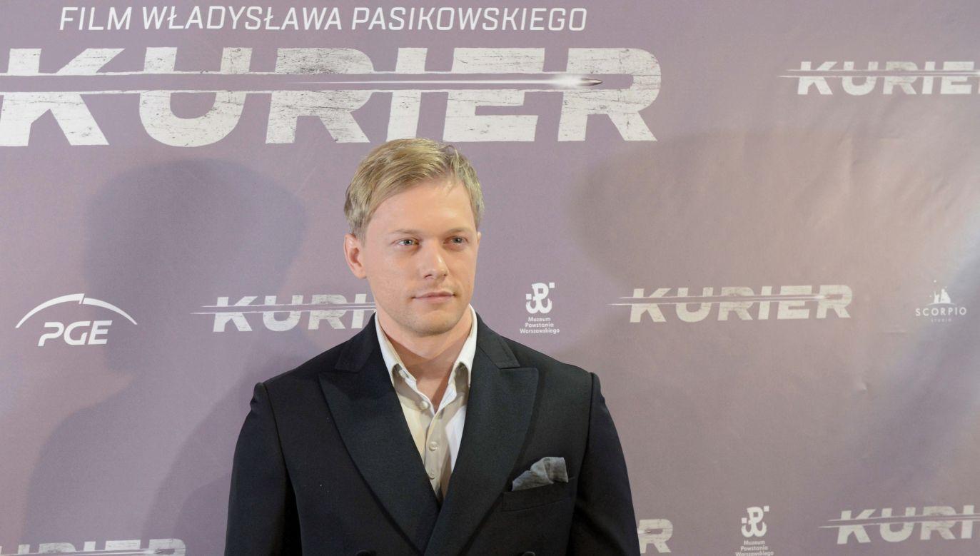 Philippe Tłokiński, who will play Jan Nowak-Jeziorański. Photo: PAP/Jakub Kamiński