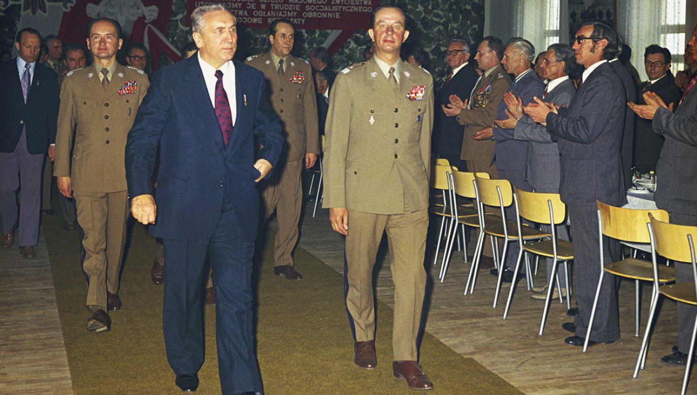 Wojciech Jaruzelski i Edward Gierek (fot. arch.PAP/Jan Morek)