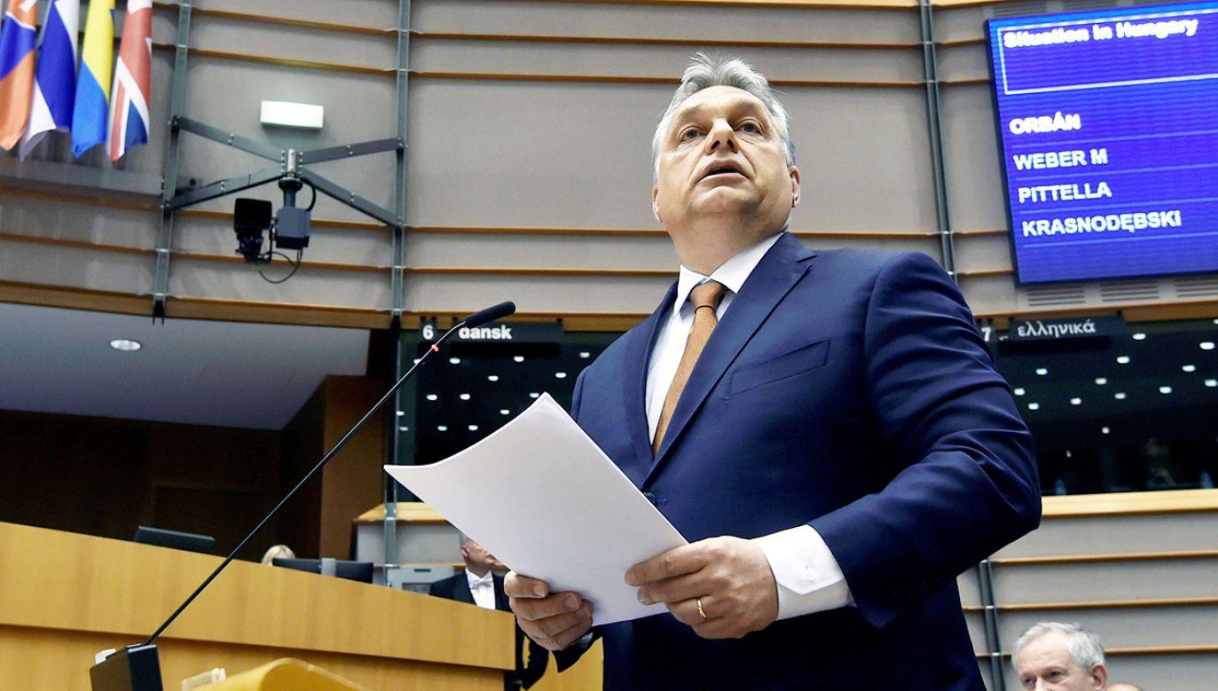 Viktor Orbán (fot. REUTERS/Eric Vidal)