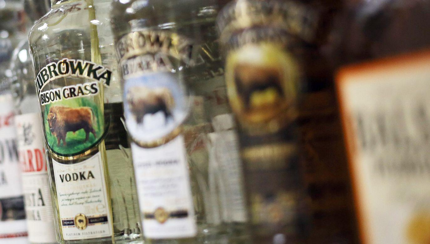 Ok. 20 proc. wódek produkowanych w Polsce jest eksportowana (fot. arch.PAP/Leszek Szymański)