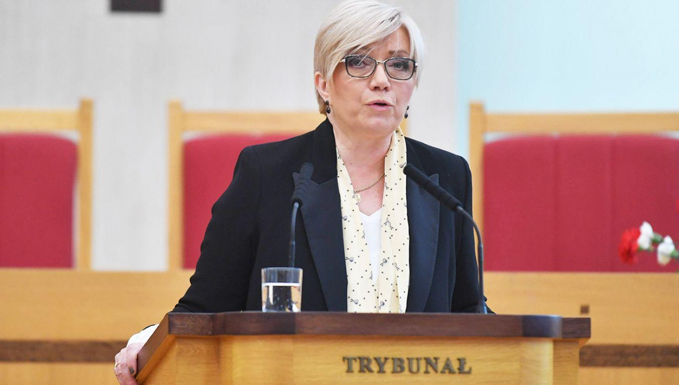 Prezes Trybunału Konstytucyjnego Julia Przyłębska (fot. arch.PAP/Bartłomiej Zborowski)