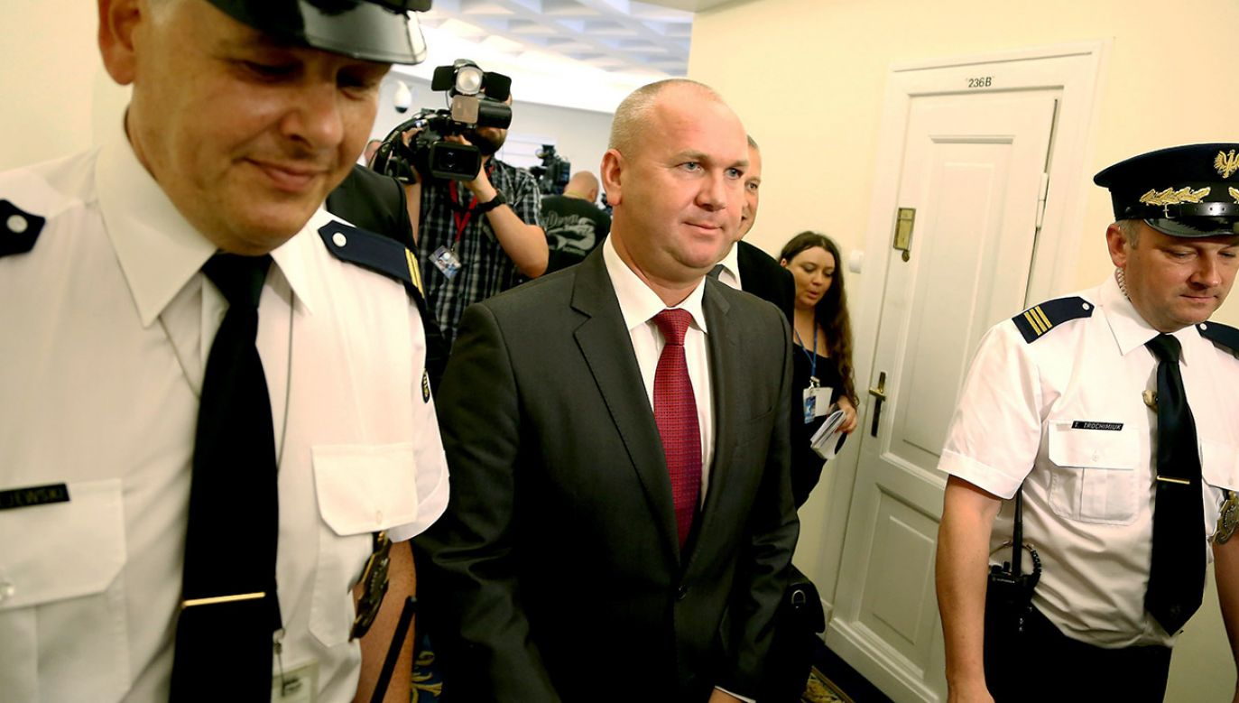 Były szef CBA Paweł Wojtunik usłyszał zarzuty (fot. arch.PAP/Tomasz Gzell)