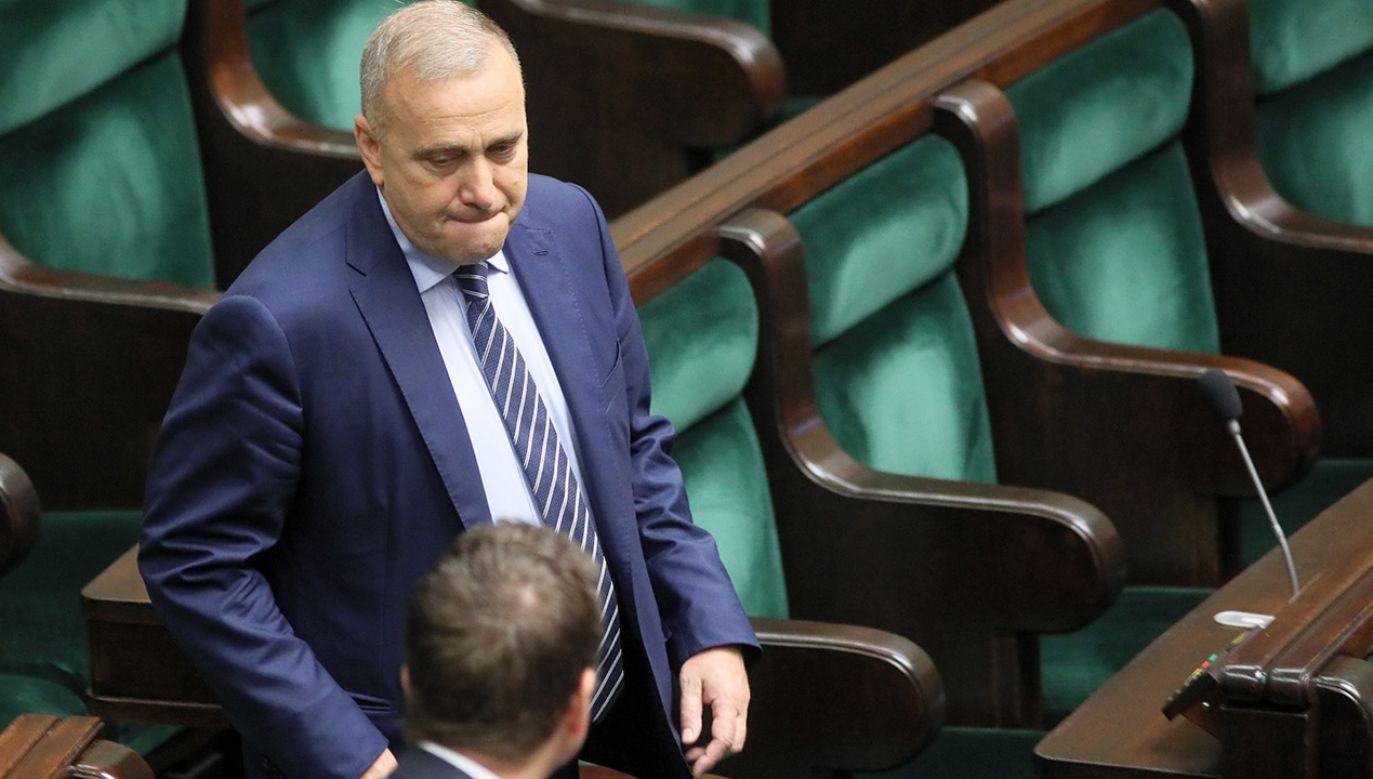 Lider Platformy Obywatelskiej powiedział, że decyzję należało podjąć ze względu na możliwość powołania koalicji z Nowoczesną (fot. PAP/Leszek Szymański)