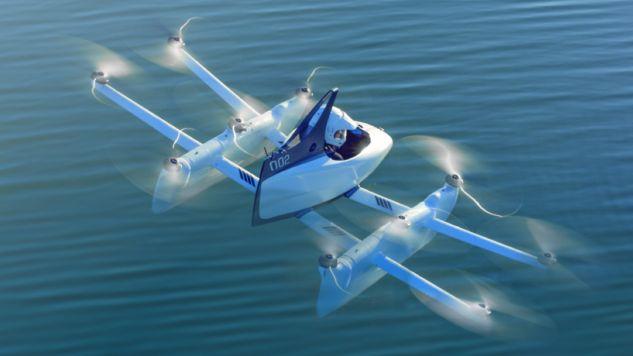 W przyszłości pojazd będzie mógł latać z dużo większą prędkością, nawet do 100 km/h (fot. flyer.aero/materiały prasowe)