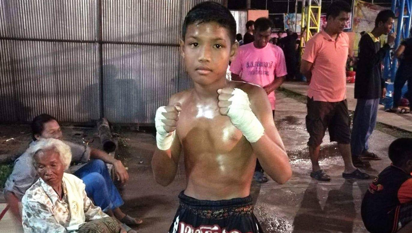 Według mediów Anucha Tasako uprawiał boks tajski od ósmego roku życia i stoczył ponad 150 pojedynków (fot. FB/Anucha Tasako)