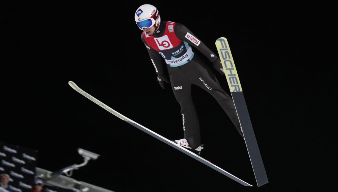 Kamil Stoch (fot. PAP/EPA/TERJE BENDIKSBY)