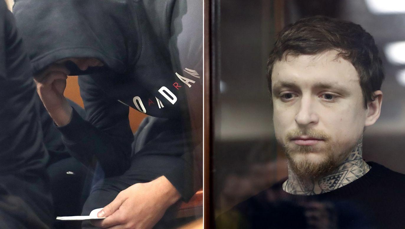 Aleksandr Kokorin i Paweł Mamajew przebywają w areszcie od października ubiegłego roku (fot. PAP/EPA/MAXIM SHIPENKOV)