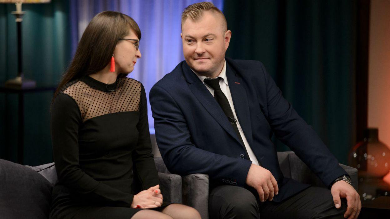 Serce Łukasza niezmiennie należy do Agaty. Para planuje już ślub i wspólne życie (fot. TVP)