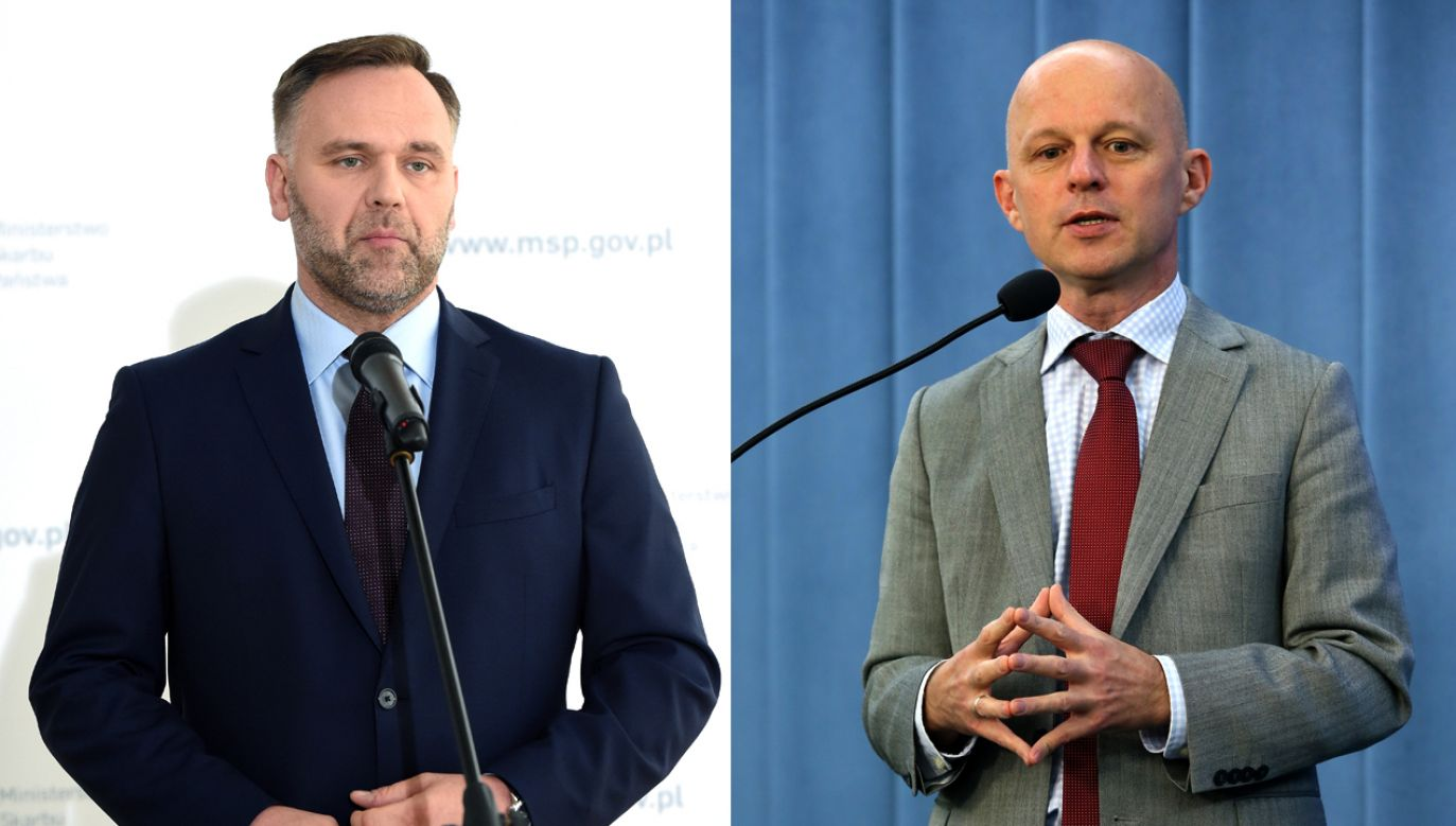 Jackiewicz i Szałamacha pełnili funkcje ministrów w rządzie Szydło (fot. arch. PAP/Radek Pietruszka/Tomasz Gzell)